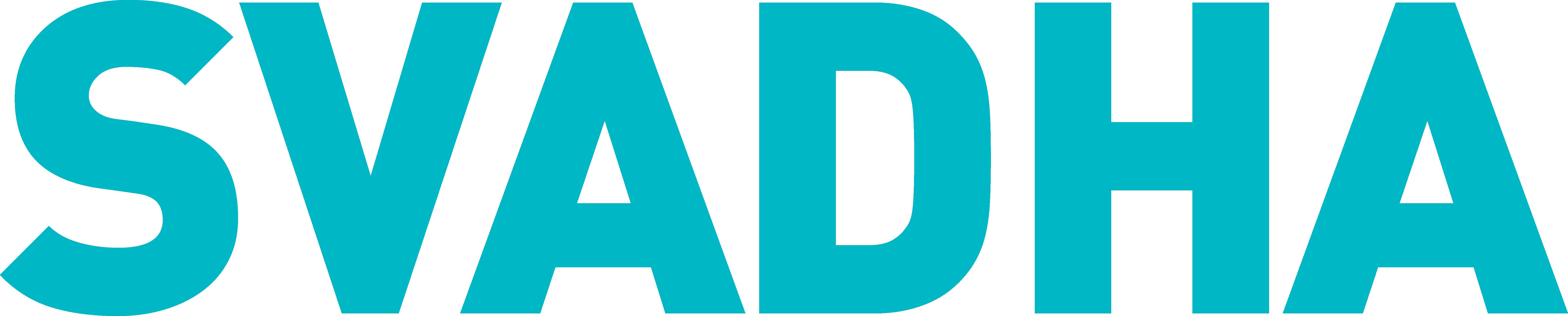 Svadha logo turquoise