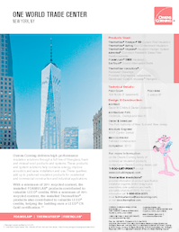 10020923 one world trade center product portfolio