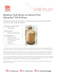 Ocv casestudy belding tank relies on advantex glass 032910 web