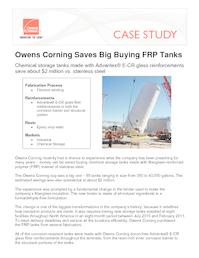 10014614 owens corning frp tank case study