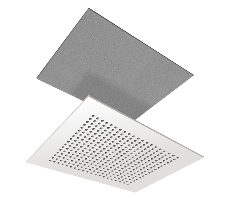 Acoustimax for perforated ceiling actual small