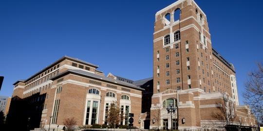 Photo of University of Michigan's North Quad