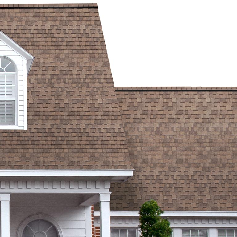 Duration COOL Forest Brown Shingle View