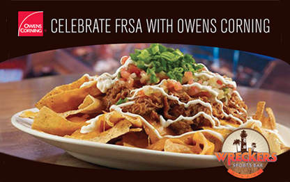 Join Owens Corning for FRSA Food and Fun