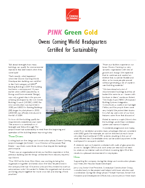 cover image of Gold LEED Existing Buildings WHQ Case Study