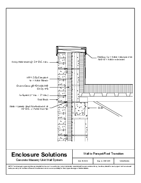 Concrete Masonry Unit with Masonry Veneer and Fluid or Sheet