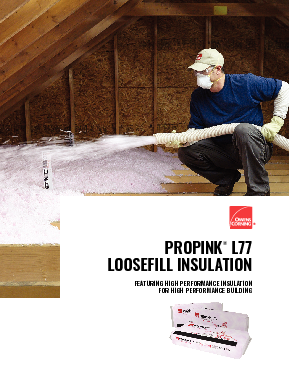 PROPINK® L77 PINK® Fiberglas™ - Owens Corning Insulation