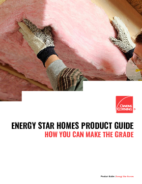 cover image of Owens Corning Energy Star Guide Brochure