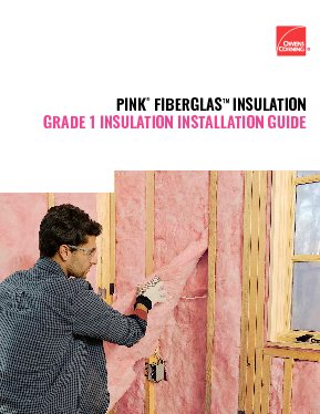 cover image of AEC Grade I Insulation with Batts Brochure