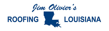 Jim Olivier's Roofing Louisiana logo