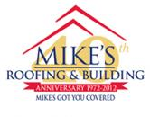 Mike's Roofing and Building logo