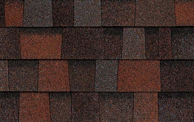 Trudefinition 174 Duration Designer Roofing Shingles Merlot