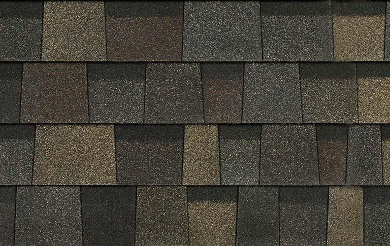 Trudefinition 174 Duration Designer Roofing Shingles Black
