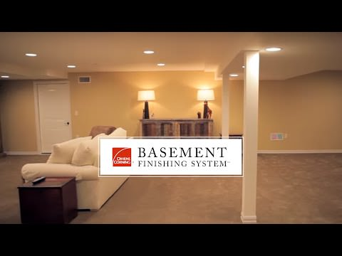 Basement Finishing System - Alternative To Drywall