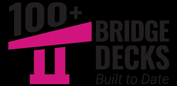 100 Bridge decks Built