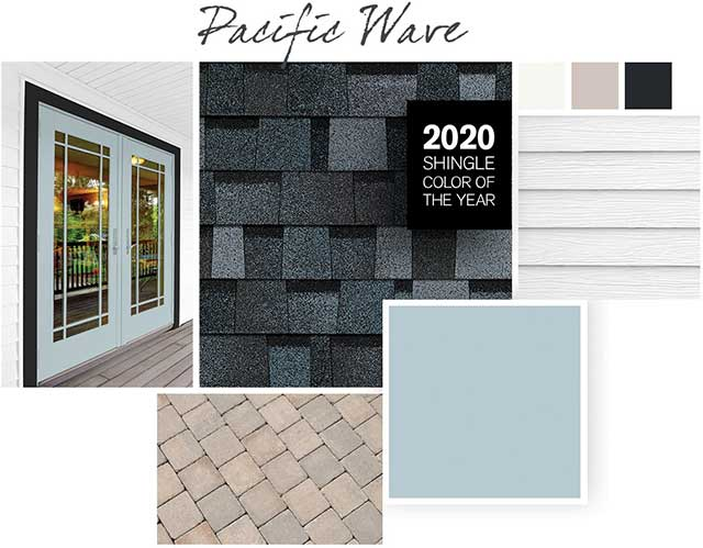 Shingle Color Pairings