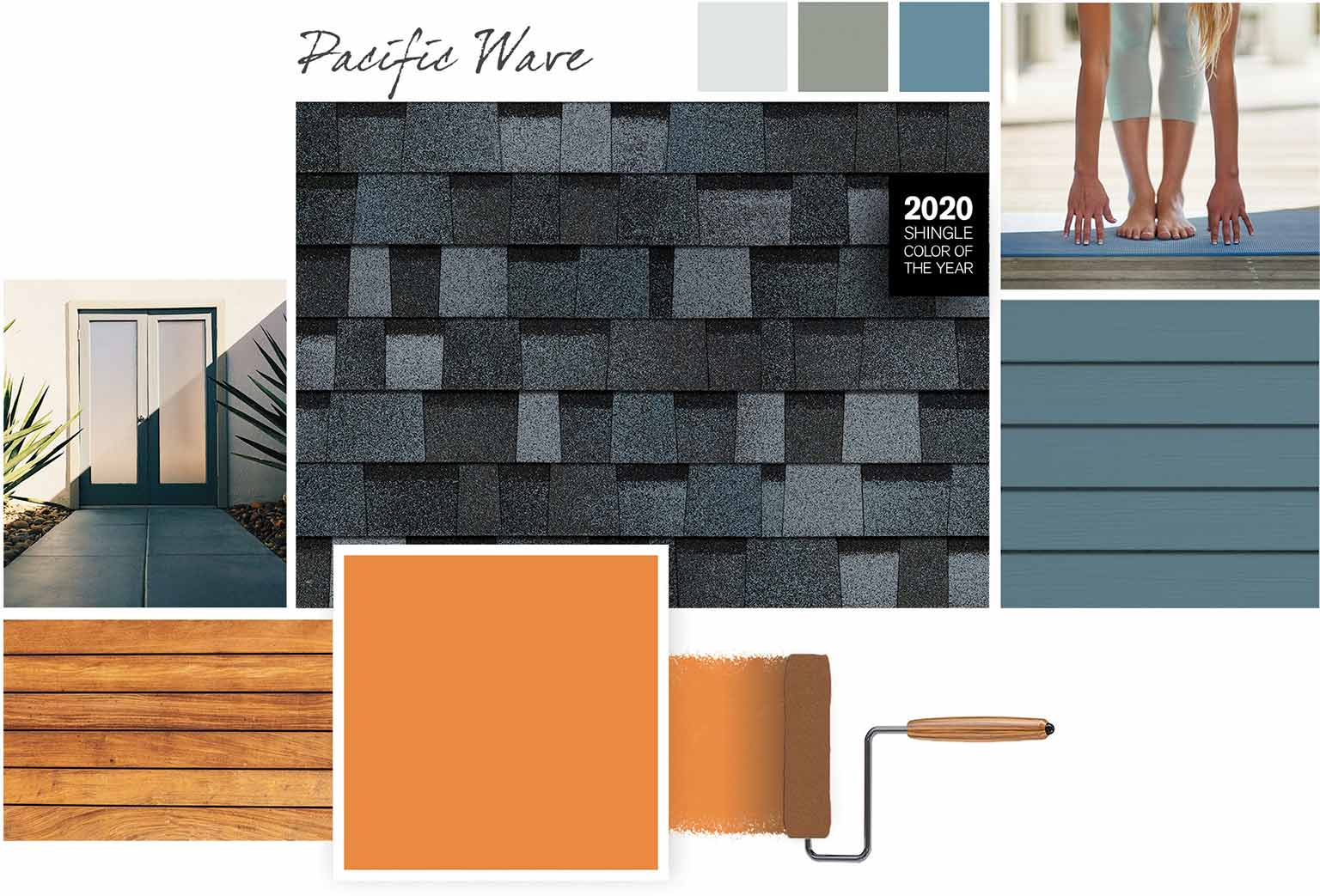 West Coast Color Style Board