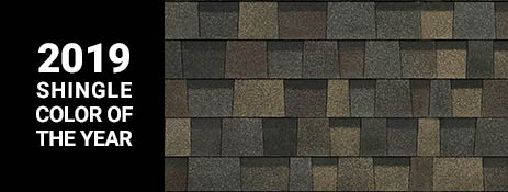 Black Sable is the 2019 Shingle Color of the Year