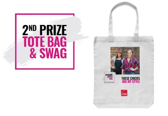 2nd Prize Tote Bag and SWAG
